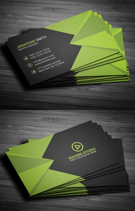 graphic business card templates free business card templates freebies graphic design