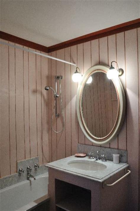 red bathroom suite castello di panzano in panzano in chianti siena tuscany