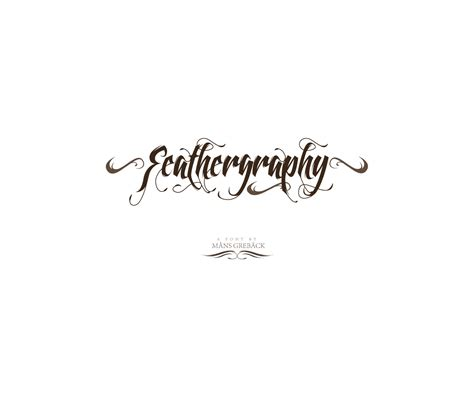 swashes calligraphy font buy decorative tattoo font for