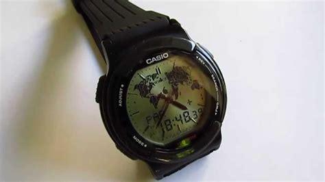 casio twincept abx  wristwatch youtube