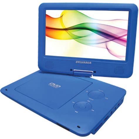 blue film mp3 video player sylvania sdvd9020b 9 quot portable dvd player sdvd9020b blue