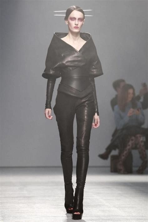 futuristic style future fashion avant garde futuristic fashion black