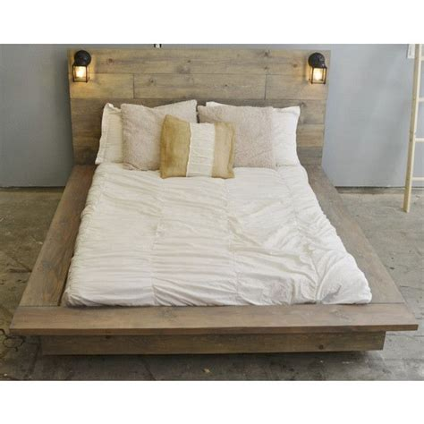 25 best ideas about wooden platform bed on