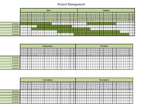 time management excel templates for every purpose