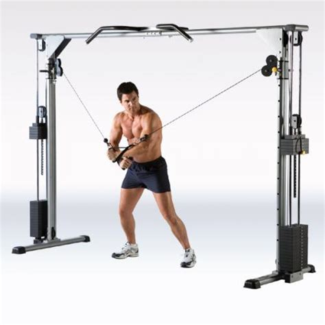 Alat Fitness Cross Trainer Adjustable Cable Crossover Machine Bg 9026 Toko