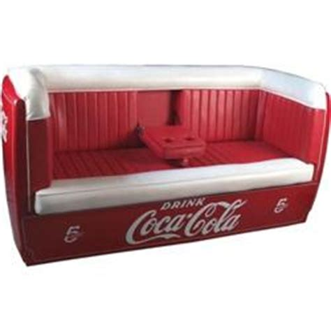 cooler couch coca cola sofa couch made from a large cooler