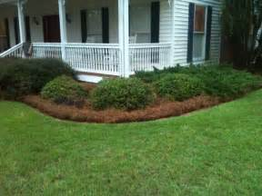 Landscape Design Front Yard Curb Appeal - 11 best images about pine straw mulch on pinterest landscapes larger and backyards
