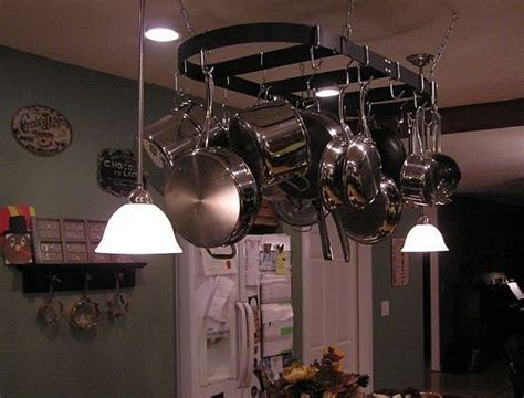 kitchen light fixtures that also have a pot rack mike 9 best images about kitchen remodel ideas on pinterest