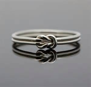 Infinity Knot Ring Hug Infinity Ring Sterling Silver Knot Ring By