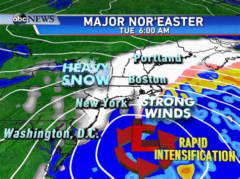 what is a nor easter in weather blizzard 2015 northeast shuts as major