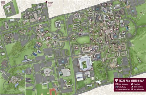 texas a and m map texas a m cus map my