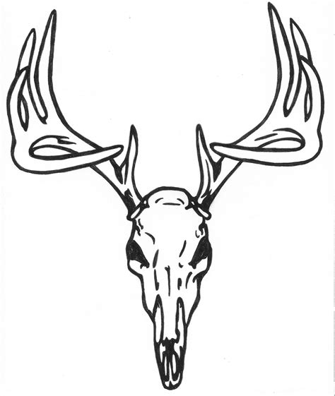 deer head tattoo design 27 deer skull designs ideas