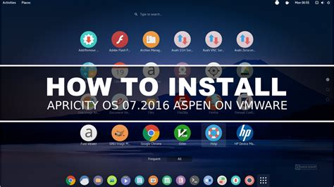Install Linux Mint 17 Qiana Lts On Vmware by How To Install Apricity Os 07 2016 Aspen On Vmware Linux