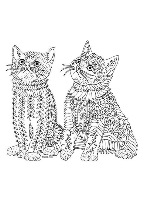 cat mandala coloring page 253 best images about coloring pages for adults on