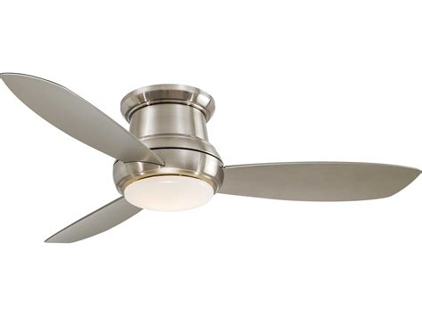 minka concept 1 ceiling fan minka aire concept ii brushed nickel 52 wide indoor