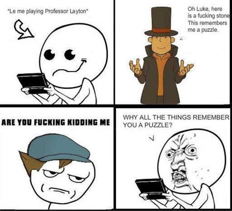 Professor Layton Meme - image 230221 professor layton know your meme