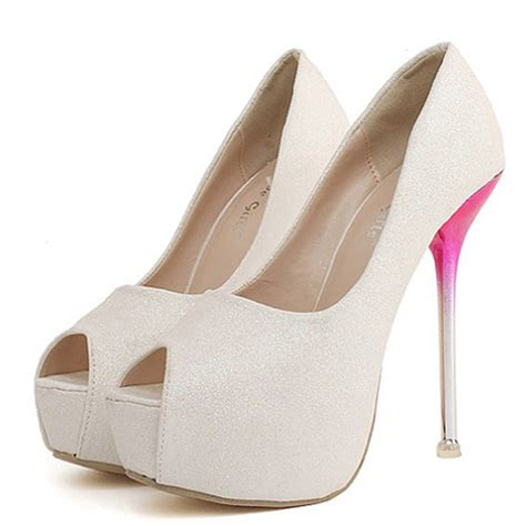 cheap stiletto high heels cheap fashion peep toe platform stiletto high