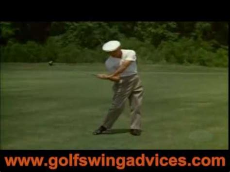 ben hogan golf swing drills ben hogan golf swing youtube