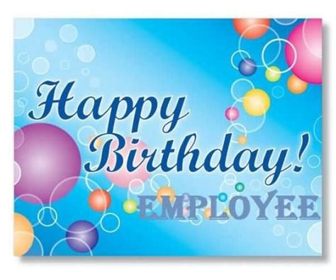 employee birthday card template birthday wishes for employee nicewishes