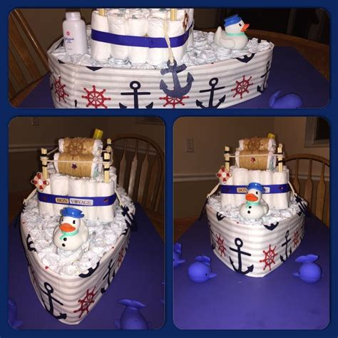 how to make a boat shaped diaper cake 25 best ideas about boat diaper cake on pinterest