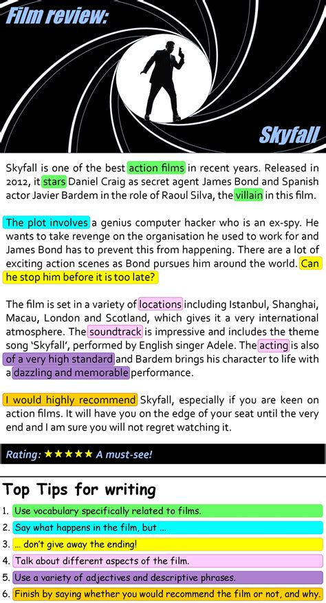 film it review skyfall film review learnenglish teens british council