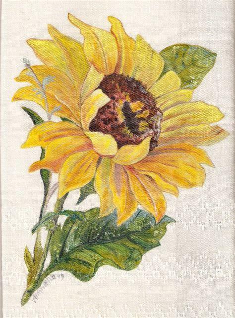 fiori dipinti su stoffa pittura su stoffa