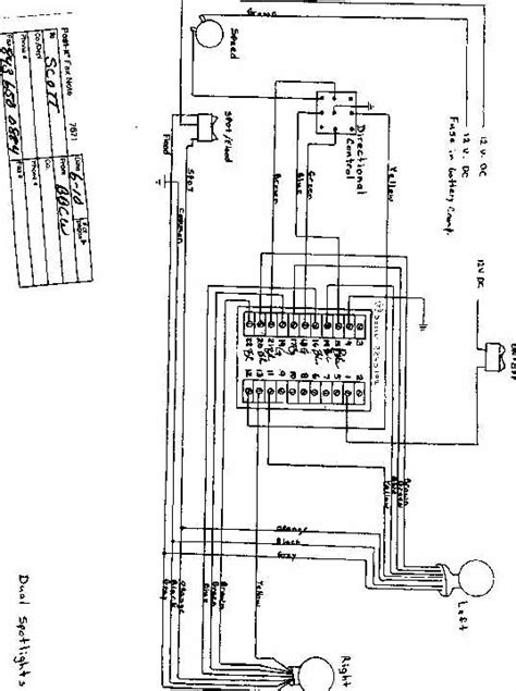 jabsco spotlight wiring diagram 31 wiring diagram images