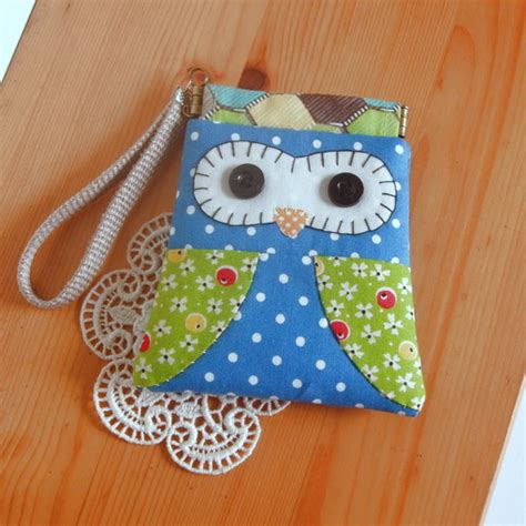 Diy Patchwork - diy patchwork sewing card holder kit owl craft your