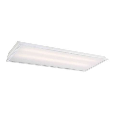 Ceiling Troffer by Commercial Electric 2 Ft X 4 Ft 128 Watt Equivalent