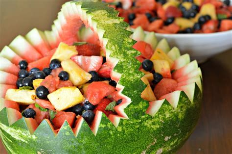 how to make a watermelon basket west of the loop