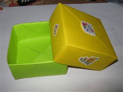 Origami Box Cover - origami box with cover photos