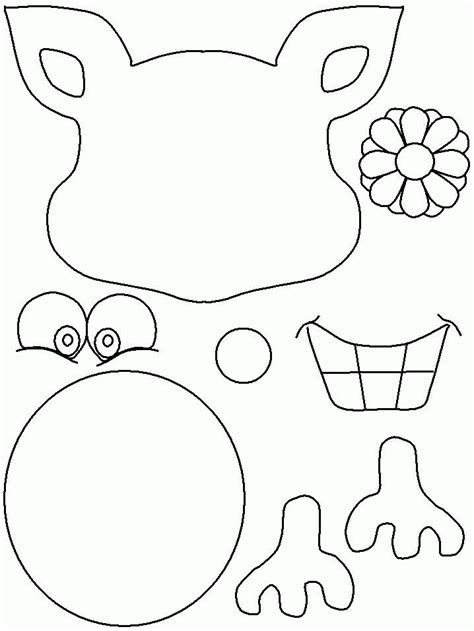 reindeer mask coloring page reindeer templates coloring home