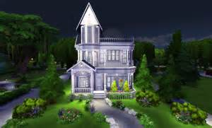 How To Build A Victorian House The Sims 4 Build Tutorial Victorian House With Interior