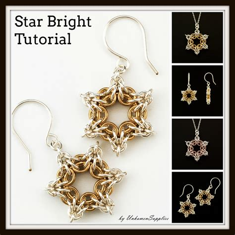 jewelry pdf bright tutorial chainmaille jewelry pdf