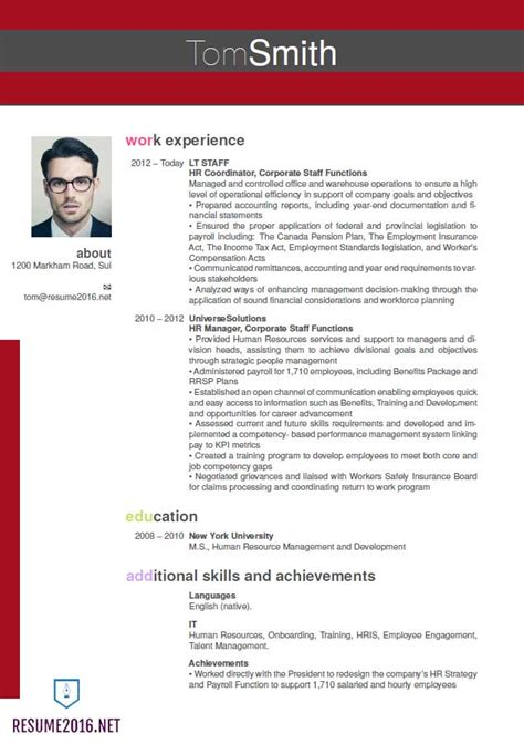 latest format for nice latest resume format free career resume