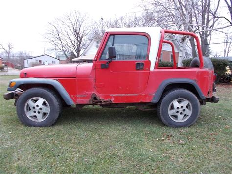 jeep amc 1994 jeep wrangler yj half hardtop 2 5 amc 5 speed
