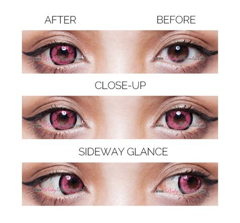 pink colored contacts vassen cloud nine pink circle lenses colored contacts