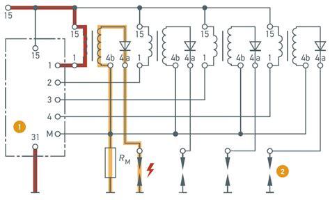 vw car wiring diagram vw distributor diagram wiring