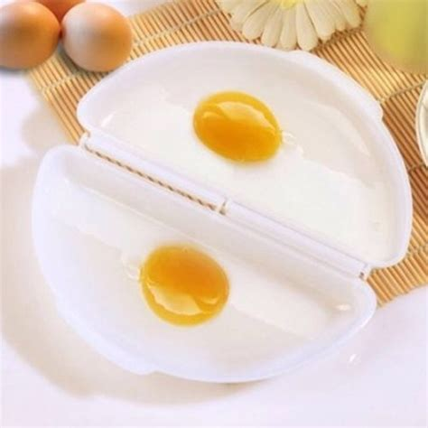 Cibo The Placemat Peralatan Makan Strawberry microwave omelet egg tray cooker pan white jakartanotebook