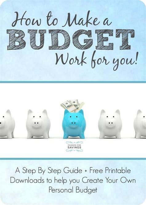 Make Budget How To Make A Budget Free Budget Worksheet Household