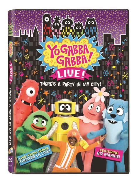 gabba gabba live review giveaway yo gabba gabba s live there s a