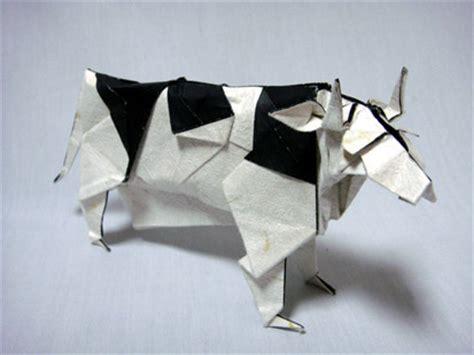 Origami Cow - origami raccoon diagram origami tiger elsavadorla