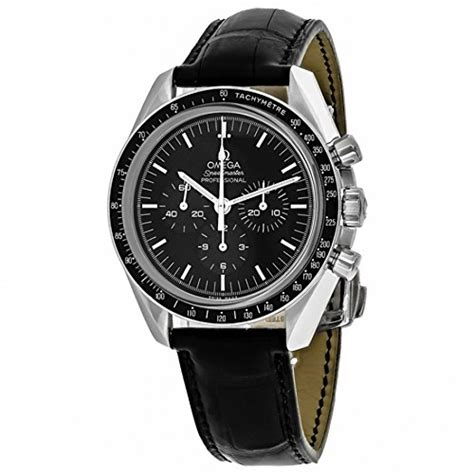 omega s automatic with black chronograph rubber