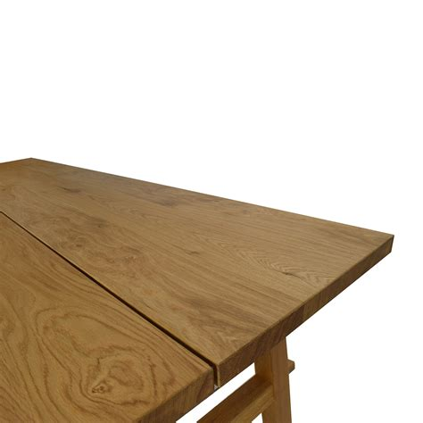ikea wood 53 off ikea ikea mockelby wood table tables