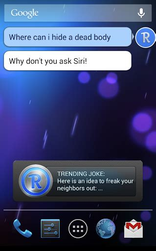 what is the android version of siri robin the siri challenger for pc