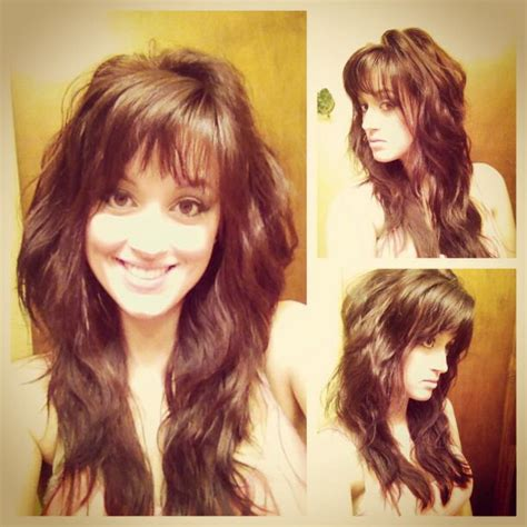 haircuts with lots of layers and bangs my new hair cut style long layered brown hair w lots of
