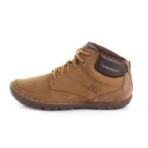 Cat Shoes Mens Caterpillar Leadville Dune Lace Up Leather Ankle