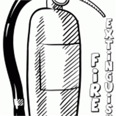 Fire Extinguisher Coloring Pages Coloring Pages To Extinguisher Coloring Page