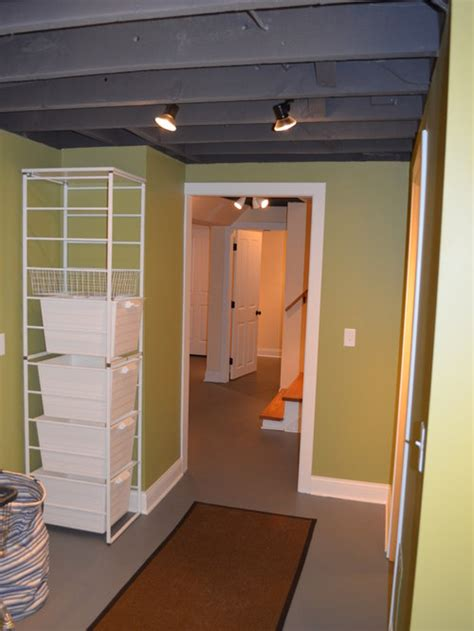 exposed basement ceiling ideas pictures remodel  decor