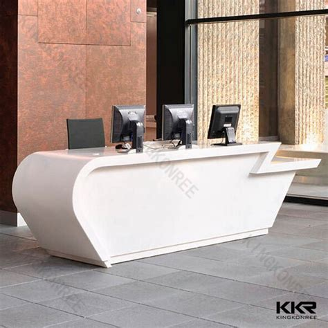 Hotel Front Desk Supplies L Shaped Reception Desk From